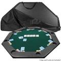 Trademark Octagon Padded Poker Tabletop, Green