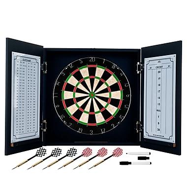 Trademark Black Laminate Dart Cabinet Set