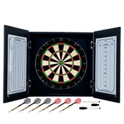 Trademark Black Laminate Dart Cabinet Set