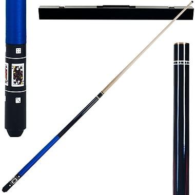 Trademark Black Royal Flush Poker Billiard Pool Cue Stick
