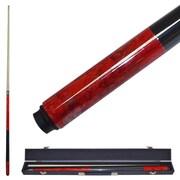 Trademark Red Marble Graphite Cue Billiard Stick