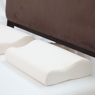 Remedy™ Deluxe Contour Memory Foam Pillow With Cover