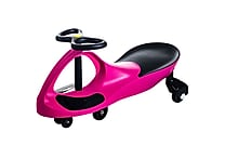 Lil' Rider Wiggle Car Ride On, Hot Pink