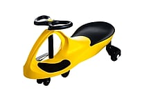 Lil' Rider Wiggle Ride-on Car, Yellow