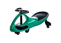 Trademark Lil' Rider Wiggle Ride-on Car, Green