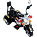 Trademark Rockin' Rollers Boss Chopper Battery Powered Trike, Raven