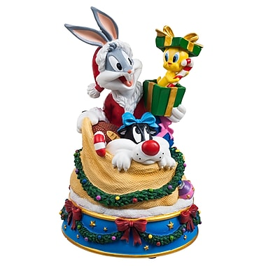 Trademark Bugs and Friends X-mas Figurine