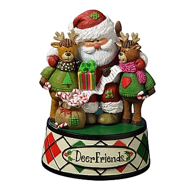 Trademark Deer Friends X-mas Figurine