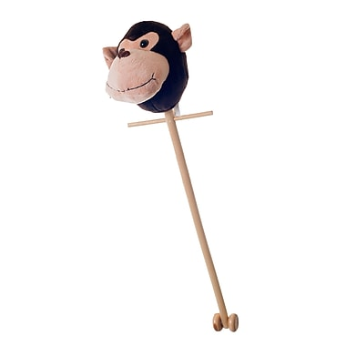 Trademark Maggie The Monkey Happy Trails Stick, Brown