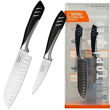 Top Chef® Santoku & Paring 2 Piece Knife Set