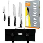 Top Chef 5-Piece Knife Set with Nylon Carrying Case