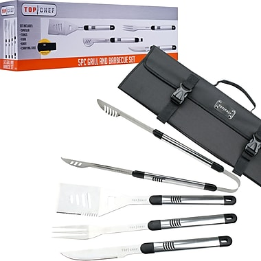 Top Chef by Master Cutlery 5-Piece BBQ Set