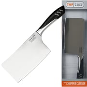 "Top Chef 80-TC08 7"" Stainless Steel Chopper Cleaver"