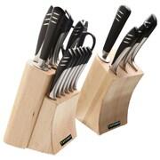 Top Moda Chef 20-Piece Knife Set Silver