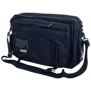 Armor Gear AG840 The Road Warrior Computer/Courier Bag, Black