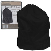 Trademark Heavy Duty Jumbo Sized Laundry Bag, Black