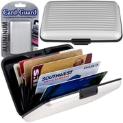 Trademark Home Aluminum Credit Card Wallet With RFID Blocking Case, Silver