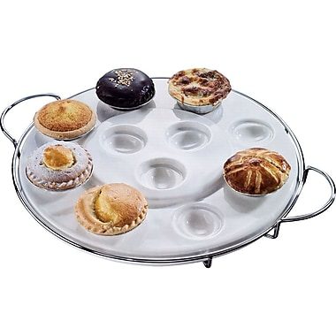 Trademark Godinger® Two Tier Multi Purpose Serving Tray
