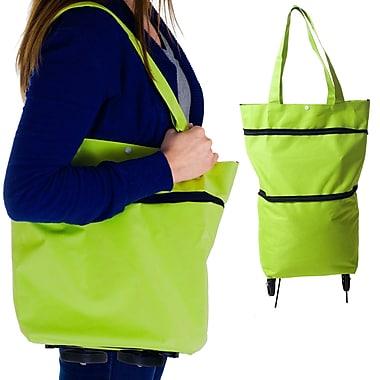 Trademark Eco-Friendly Foldable Two-Way Shopping Bag, Green