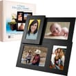 Trademark Pandigital® 4 Standard Photo Collage Picture Frame, Black