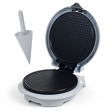 Chef Buddy™ Waffle Cone Maker With Cone Form, White