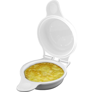 Chef Buddy™ Polypropylene Microwave Egg Cooker