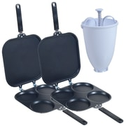 Trademark 2 Perfect Pancake Maker With Batter Dispenser, Black