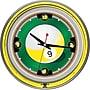 Trademark 14 Double Ring Neon Clock, 9-Ball