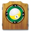 Trademark Wood Dart Cabinet Set, 9-Ball