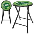 Trademark 18in. Cushioned Folding Stool, Bud Light Lime