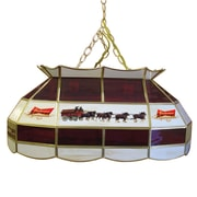 Trademark 28 Tiffany Gameroom Lamp, Budweiser Clydesdale