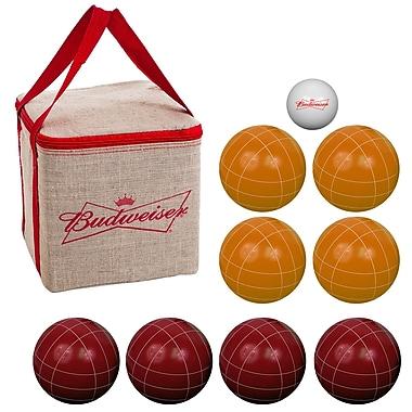 Trademark Budweiser Bocce Ball Set