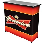 "Trademark 36"" Metal Portable Bar With Case, Budweiser"