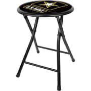 "Trademark 18"" Cushioned Folding Stool, U.S. Army"