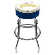 "Trademark 31"" NCAA Padded Swivel Bar Stool, University of Toledo"