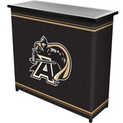 "Trademark 36"" Metal Portable Bar With Case, Army Black Knights"