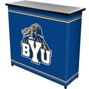 """Trademark 36"""" Metal Portable Bar With Case, BYU"""