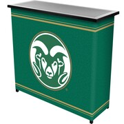 "Trademark 36"" Metal Portable Bar With Case, Colorado State"