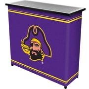 "Trademark 36"" Metal Portable Bar With Case, East Carolina University"