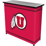 "Trademark 36"" Metal Portable Bar With Case, University of Utah"