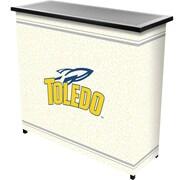 "Trademark 36"" Metal Portable Bar With Case, University of Toledo"