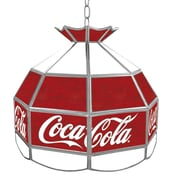 Trademark 16 Tiffany Gameroom Lamp, Coca-Cola