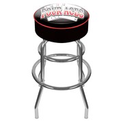"Trademark 30"" Padded Swivel Bar Stool, Four Aces"