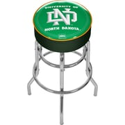 "Trademark 31"" NCAA Padded Swivel Bar Stool, University of North Dakota"