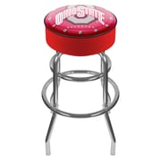 "Trademark 31"" NCAA Padded Swivel Bar Stool, Ohio State University"