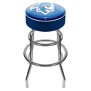 Trademark NCAA® 31'' Novelty Swiveling Base Padded Bar Stool, Blue (844296040872)