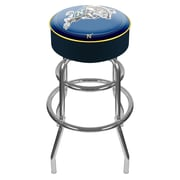 """Trademark 31"""" Padded Swivel Bar Stool, United States Naval Academy (Made in USA)"""