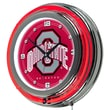 Trademark 14in. Double Ring Neon Clock, The Ohio State University