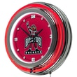 Trademark 14in. Double Ring Neon Clock, The Ohio State University Brutus