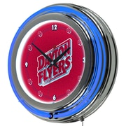 "Trademark 14"" Double Ring Neon Clock, University of Dayton"